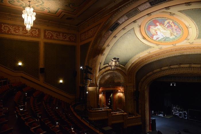 Interior view of Austin's historic Paramount Theatre